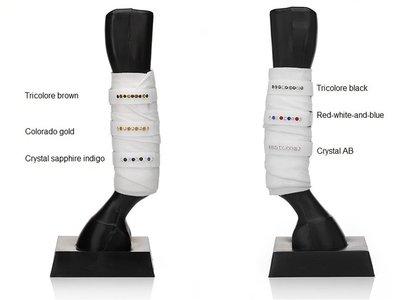 Swarovski ribbons for bandages JUDI bandageriempjes