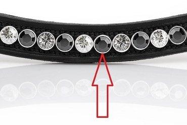 3 jaar garantie: het Swarovski kristal kan er niet uitvallen dankzij de zilveren huls