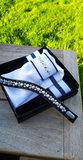 Swarovski Onyx crystal AB