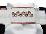 Stock tie Swarovski vintage rose AB
