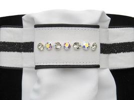Plastron Crystal Fabric black Classic crystal AB