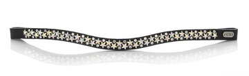 Browband Famous Star Double crystal AB