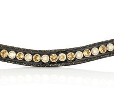 Browband Crystal Fabric colorado gold