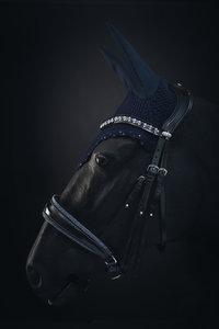 Swarovski ear net blue
