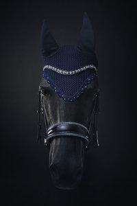 Browband Swarovski tricolore blue