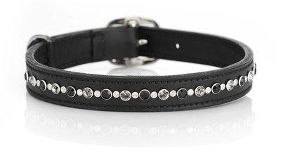 Hondenhalsband Senna Odessa tricolore black