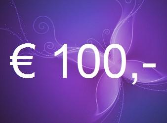 Gift certificate 100 euro